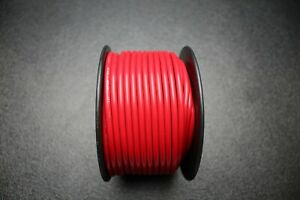 10 GAUGE WIRE PER 25 FT RED HOOK UP AWG STRANDED COPPER PRIMARY GROUND POWER