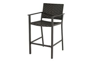 Wicker Bar Chair Brown FREE DELIVERY