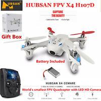 Hubsan X4 H107D FPV Mini Quadcopter 5.8G 6 Axis 480P LCD Monitor RC Drone RTF