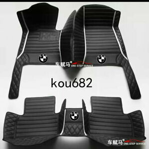 For 1999-2021-BMW -all models luxury custom waterproof floor mats