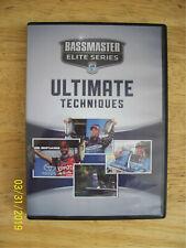 Bassmaster Elite Series Ultimate Techniques Dvd