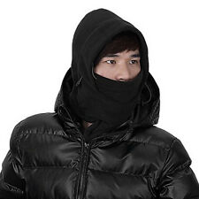 Stock Black Outdoor Survival Winter Ski Mask Beanie Hat Helmet Camping Gear New.