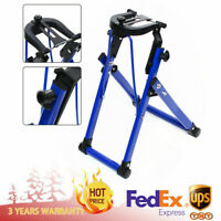 Blue Professional Bicycle Wheel Truing Stand For 24/26/28 Inch Wheels Durable US