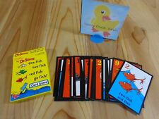 DR SEUSS 3 GAMES IN 1 Replacement Game Parts ONE FISH CARDS DECK 2005 University