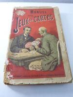 manuel des jeux de cartes (gc30)