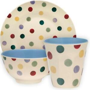 Emma Bridgewater - Polka Dot - Bamboo Melamine - Plates, Bowls or Beakers
