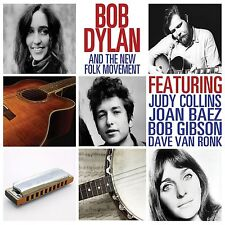 BOB DYLAN + THE NEW FOLK MOVEMENT NEW AND SEALED CD 1st album & 13 other tracks