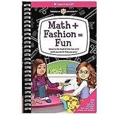 Math + Fashion =Fun American Girl Book