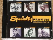 Sam Cooke Larry Williams Percy Mayfield Hooker Promo CD
