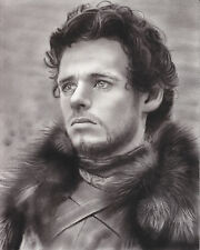 Game of Thrones Robb Stark ART CHARCOAL DRAWING 8X10""