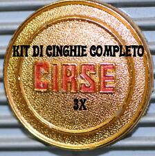★ KIT CINGHIE DI RICAMBIO 3 x PROIETTORE 8 mm CIRSE RENO  ★