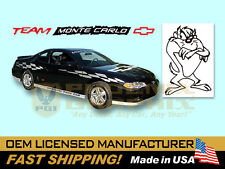 2000 2001 2002 2003 Monte Carlo SS Super Sport Pace Car FADER Decals Stripes Kit