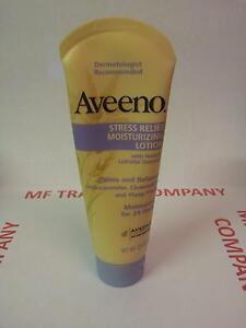 Aveeno Moisturiser Stress Relief Lotion DERMATOLOGIST RECOMMENDED BARGAIN PRICE