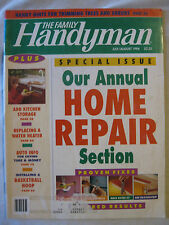 The Family Handyman July / August 1994 Home Repair, Add Kitchen Storage ....