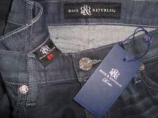 NWT ROCK & REPUBLIC CRAZY B !@#H Skinny Jeans Made in USA Sz 29