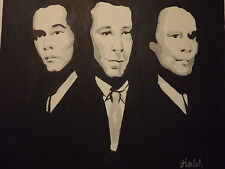 abstract gansters oil painting canvas pop art goodfellas modern contemporary