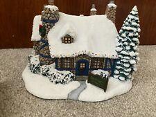 More details for thomas kinkade hawthorne village christmas stonehearth restaurant w/ cert