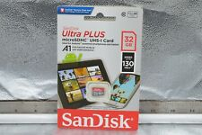 SanDisk Ultra New 32GB micro SD SDHC Memory Card 130MB/s