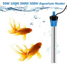 50-300W Aquarium Heater Water Temperature Thermostat Submersible Fish Tank Rods