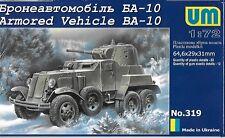 Unimodels No. 319 - Armored Vehicule BA-10