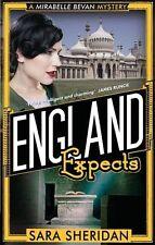 SARA SHERIDAN ___ENGLAND EXPECTS ___ SHELF WEAR ___ UK