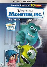 MONSTERS INC John Goodman DVD R4 - Deluxe Two Disc