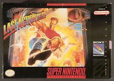 Last Action Hero Super Nintendo SNES Box Only Original 1993 Box