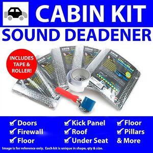 Heat & Sound Deadener Ford 1957 - 59 Cabin Kit + Seam Tape, Roller 34254Cm2