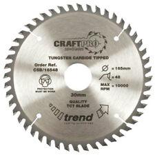 Trend CSB/16548B Wood Plunge Saw Blade 165mm x 20mm x 48T Circular