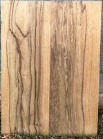 "Black Limba Guitar Blk Streaked 2 pc 19"" x 13.75 "" x 1.78"" Kiln Dried & Sanded"