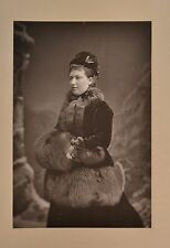Fine 1890 Cabinet Card Portrait Photo Princess Helena Of UK Christian W&D Downey