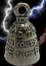 If Can Read This Then You're Too Close To My Bike Guardian Ride Bell or Keychain