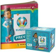 Vista previa de fútbol Copa 2020 Panini Euro 60 Pack Caja total 300 cromos + álbum