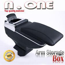 BLACK CHROME ARMREST CENTER CONSOLE STORAGE BOX HONDA CIVIC 90-09 10 11