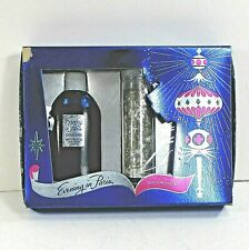 EVENING IN PARIS BOURJIOS set box cologne blue bottle full stick (dry) 40's ʱ P2