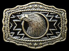 Wild Eagle Bird American Native Western Cowgirl Belt Buckle Boucle Ceinture
