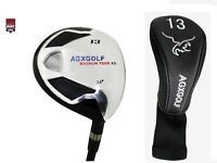 AGXGOLF FAIRWAY XS 13 WOOD (34°) MENS RIGHT GRAPHITE SHAFT ALL SIZES +HEAD COVER