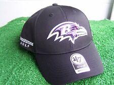 Bridgestone Golf Baltimore Ravens Black Golf Hat Cap NFL Team Adjustable NEW
