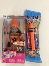 Kelly Crayola Crayon Deirdre Doll And Pez Set NIP
