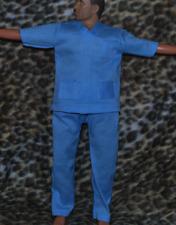"Dr Scrubs for 1/6 scale 12""  action figure man. Hot Toys  Dragon BBI Medic Nurse"
