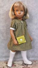 4 PIECE  OLIVE DOTTY   DRESS  SET FOR  SASHA DOLL