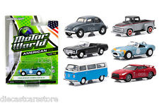 GREENLIGHT MOTOR WORLD SERIES 15 ASSORTMENT SET OF 6,NISSAN,SHELBY CAR 96150