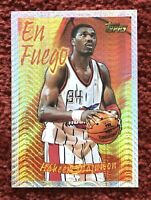 HAKEEM OLAJUWON 1996-97 Topps Chrome En Fuego Houston Rockets 🔥🔥🔥