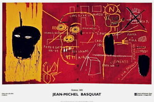 Florence(1983), 2002 Exhibition Poster, Jean-Michel Basquiat - LARGE