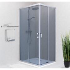 Box doccia ARES 70x90 Scorrevole Fumè Satinato