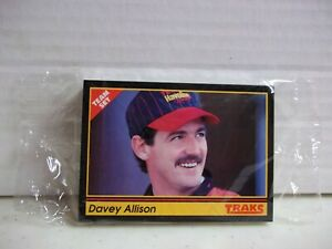 1991 Traks - Davey Allison Team Set - Texaco Havoline - 25 Cards - NASCAR HOF