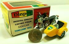 Vintage Yonezawa Toys / Diapet 1:30 Honda Cb750 Motorcycle with Sidecar