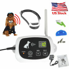 Wireless Ground  Electronic Remote Pet Dog Fence System Rechargeable&Waterproof