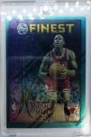 1995-96 Topps Finest Swish & Dish Michael Jordan #DS4 Scottie Pippen, Rare Foil