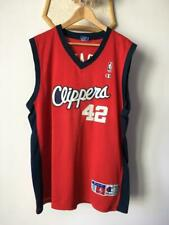 LOS ANGELES CLIPPERS NBA BASKETBALL CHAMPION JERSEY ELTON BRAND #42 AUTHENTIC XL
